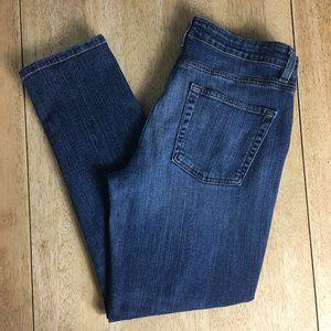 Eileen Fisher 8 Stretch Denim Ankle Jeans